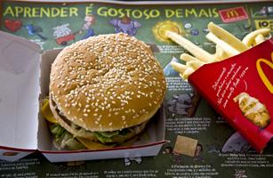 McDonald's Restaurant In Brazil