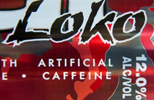 """A can of """"Four Loko"""" malt liquor energy"""