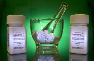 Forest Laboratories antidepressant drug Lexapro is arranged
