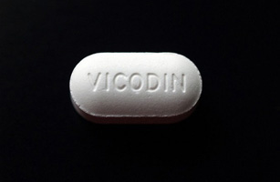 1. Hydrocodone with acetaminophen (Vicodin)