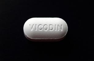 1. Hydrocodone with acetaminophen (Vicodin)