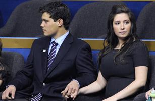 Bristol Palin, daughter of US Republican