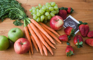 pregnancy healthy diet fruits vegetables