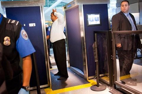 full-body airport scanner