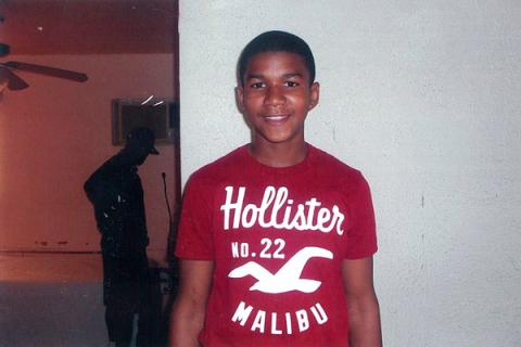 Undated handout photo released by the Martin family public relations representative shows 17-year-old Trayvon Martin