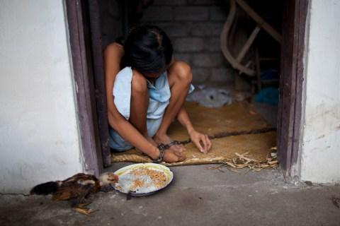 A Schizophrenic Woman In Bali