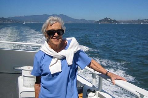traveling with the elderly, grandma marilyn