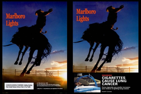 graphic cigarette warning labels