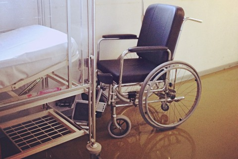 Wheelchair and stretcher