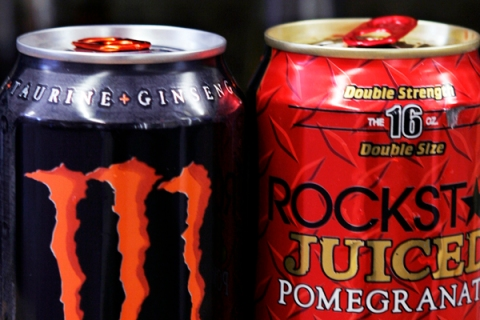 High energy drinks
