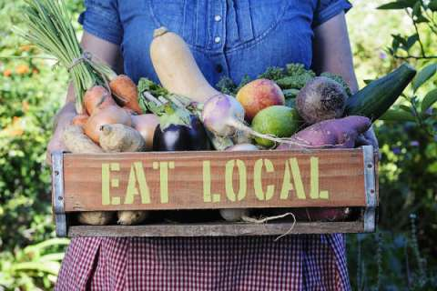 eat local environmentally friendly eating