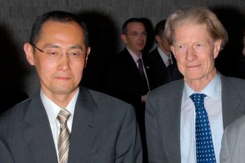 Shinya Yamanaka and John Gurdon