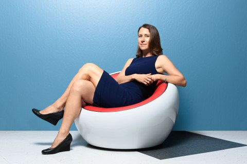 image: Anne Wojcicki, co-founder of 23andMe.