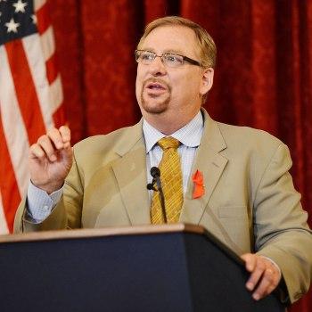 image: Pastor Rick Warren, creator of the Daniel Plan.