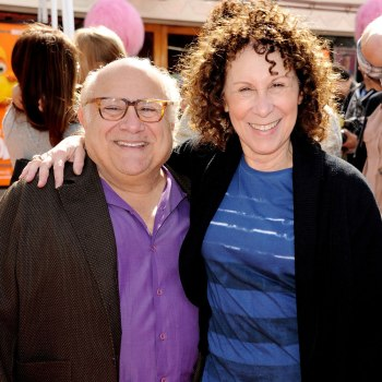 "image: Danny DeVito and Rhea Perlman arrive at the premiere of ""Dr. Seuss' The Lorax"" at Citywalk in Universal City, California on Feb. 19, 2012."
