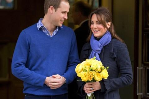 Duchess Of Cambridge Leaves The King Edward VII Hospital