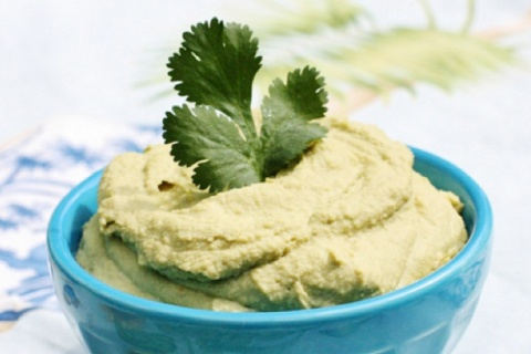 Raw Chickpea-Less Hummus