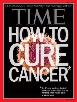 TIME Magazine Cover, April 1, 2013
