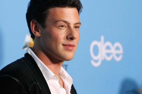 "Cory Monteith at the premiere of the second season of the television series ""Glee"" at Paramount studios in Los Angeles, Sep. 7, 2010."