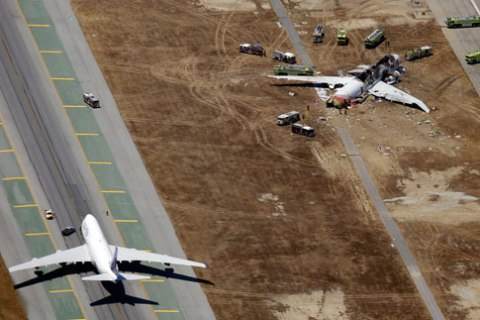 San Francisco Airliner Crash