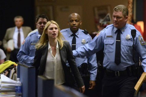 Homeland films at Charlotte Observer