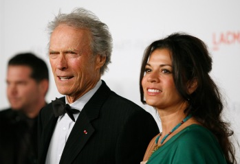 From left: Clint and Dina Eastwood at the Los Angeles County Museum of Art (LACMA) Art + Film Gala in Los Angeles, on Nov. 5, 2011.