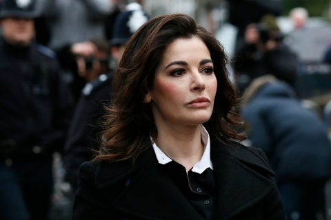 Nigella Lawson arrives at Isleworth Crown Court in west London, on Dec. 4, 2013.