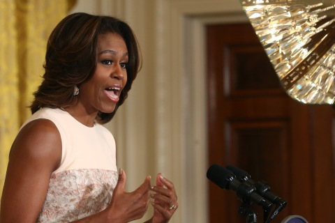 Michelle Obama And Tom Vilsack Make Announcement On School Wellness